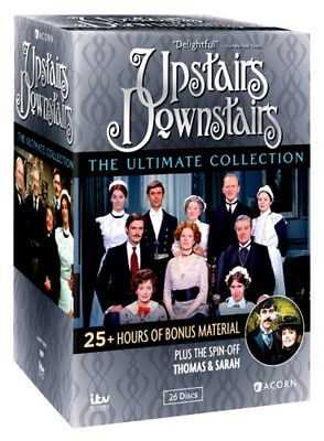 Upstairs Downstairs: Ultimate Collection (DVD, 26 Discs) Complete Series + Bonus