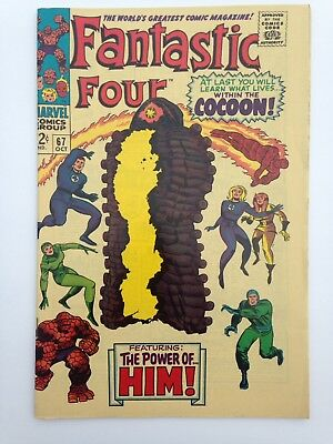FANTASTIC FOUR COCOON 12c 67 COMIC BOOK 1967