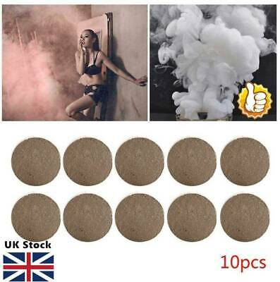 10Pcs Smoke Cake White Bomb Smoke Effect Show For Photography Stage MV Aid Toy