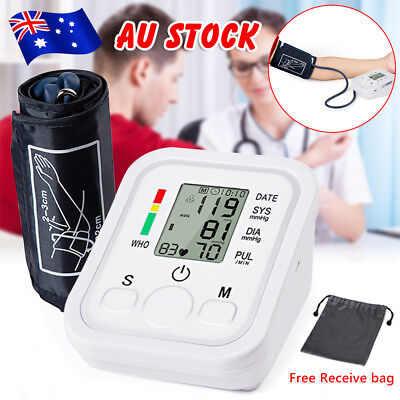 Digital Blood Pressure Monitor Digital Automatic Upper Arm Type with Carry Bag