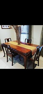 Antique Table and Chairs & Buffet
