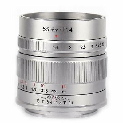 7artisans 55mm f1.4 APS-C Manual Fixed Lens for Leica T mount