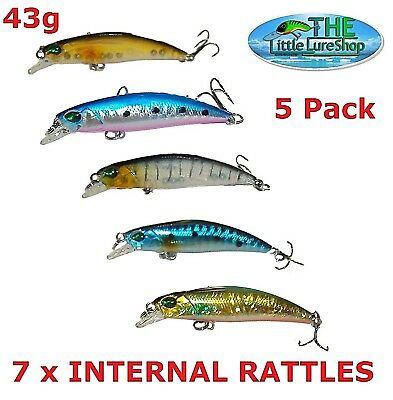 Bream, Redfin Freshwater 70mm Fishing Lures Flathead Bass Perch Tailor Jack Lure