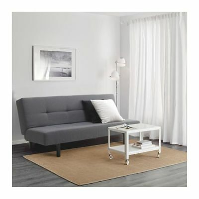 Ikea Balkarp Sleeper Sofa Bed Futon In Vissel Gray 179 Mint