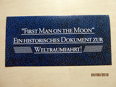 USA, Zeitdokument First Man on the Moon, Neil Armstrong,20. Juli 1969