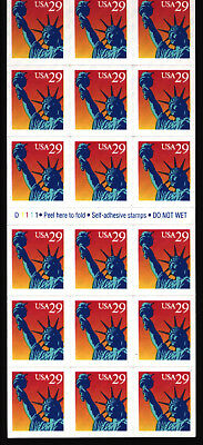 USA, 18x 29 cent selbstklebend, staue of liberty, self adhesive stamps