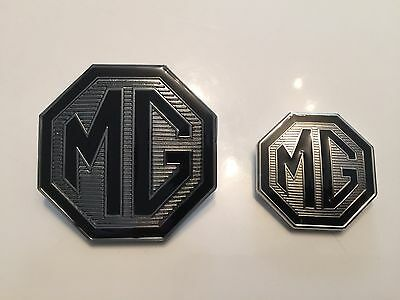 MG ZT Badge Front Grille and rear boot badges 59mm & 39mm With lug holes. Le500