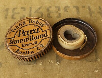 Original WW2 German army Elastic Band ( Para Gummiband Heer 38 Berlin C2 ) Rare