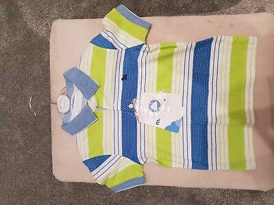 Mayoral Baby Boy Polo Top Size 18 Month New With Tags