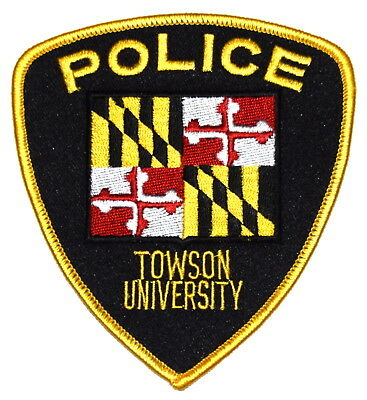 TOWSON UNIVERSITY – TU – BALTIMORE CO MARYLAND MD COLLEGE CAMPUS Police Patch