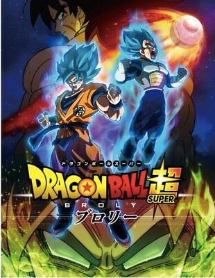DRAGON BALL SUPER MOVIE BROLY PAMPHLET Movie program Book normal Ver From Japan