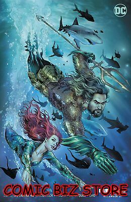 Aquaman #43 (2018) 1St Printing Drowned Scott Movie Variant Cover Dc Universe