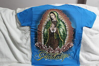 OUR LADY OF GUADALUPE UNIVERSAL LOVE FLOWER FLOWERS T-SHIRT SHIRT