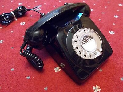Original Black GPO 746 Telephone 1969 - Converted