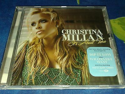 First press CD:Christina Milian-It's about time(Dip it low,Whatever want)+video