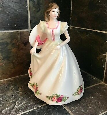 """Limited Edition 1997 Royal Doulton Bone China 8 1/2"""" """"Annabelle"""" Figurine"""