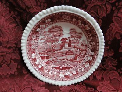 "Spode Tower Pink China -Old Backstamp - Oversized Saucers 6"" - Multiple Avail"