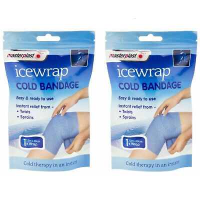 Masterplast Ice Wrap Cold Bandage Compress Therapy Treats Injury Muscle Pain Rel