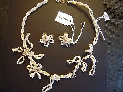 Parure Da Sposa Collana + Orecchini / Wedding Set Spose Necklace