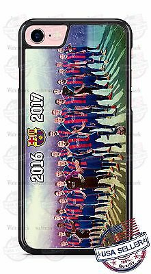 Barcelona 2016-17 Soccer Team Phone Case Cover for iPhone 7 Samsung  HTC LG etc