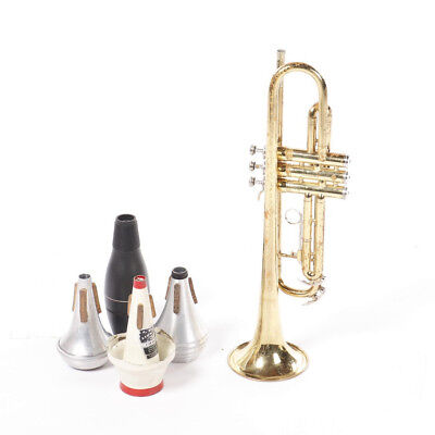 King Tempo 600 Trumpet with Mutes
