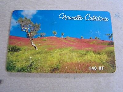New Caledonia used chipcard    Landscape