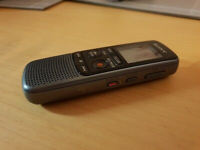 Sony dictaphone ICD-PX240 4 gb with case, used, good condition