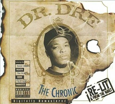 Dr. Dre The Chronic [Re-Lit And From The Vault] [Pa] New Cd+Dvd