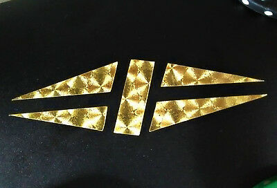 Gibson Guitar Headstock Split Diamond Logo, Decal Sticker Inlay 0.4% 22k GOLD