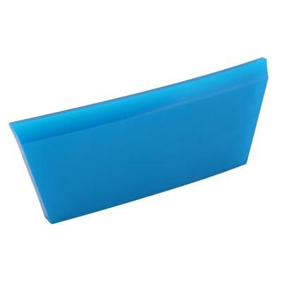 Blue Squeegee Rubber Window Tint Cleaning for Car Glass Mirror Windshield Y