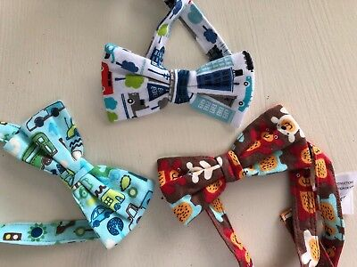 Zutano Toddler Boy Bow Ties Lot Of 3