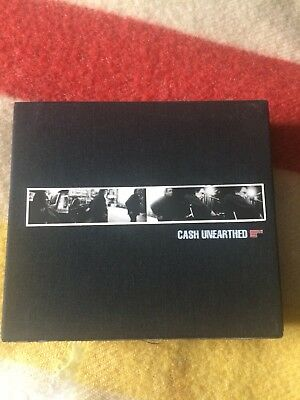 Unearthed Boxset by Johnny Cash 5 Cd's 2003 Excellent condition Lost Highway