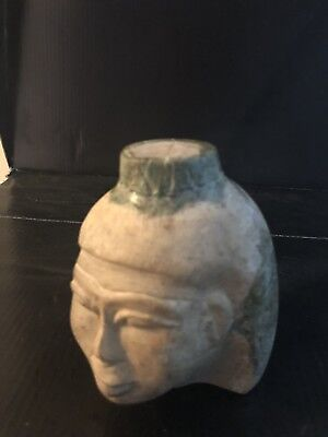 Rare Large Ancient Egyptian Queen Head  (1403-1365 BC)