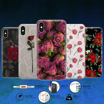 ROSE FLOWER COOL DESIGN PHONE CASE COVER for iPhone