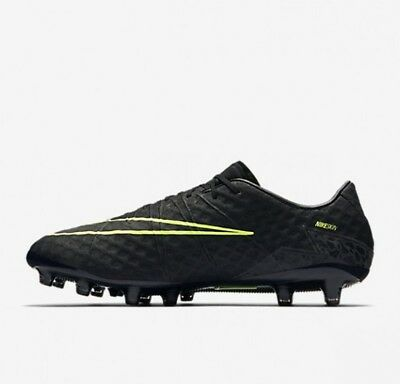 newest da140 33fd3 NIKE HYPERVENOM PHINISH AG Pro UK 7 (EUR 41) Black Metallic Hematite 844405- 001 - £99.99   PicClick UK