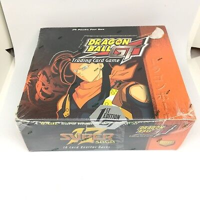 1St Edition Dragon Ball Z Gt Tcg Sealed Super 17 Booster Box 2004 Score Cards