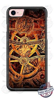 Clock Gears Watch Clockwork Phone Case for iPhone Samsung Google LG Motorola etc