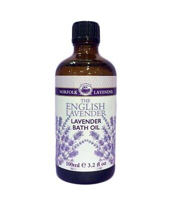 Norfolk Lavender Bath Oil - 100ml