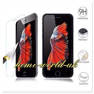 4X NEW iPhone XR XS MAX 6 6S 7 PLUS  2018 TEMPERED SCREEN PROTECTOR FOR  SAFETY