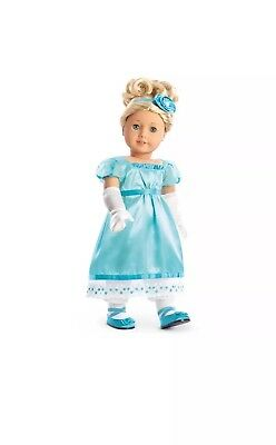 "NIB BeForever American Girl 18"" Caroline Party Gown Complete New Retired No Doll"