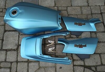 1982 Honda Nighthawk CB650SC Gas Tank, Side Covers, Tail Piece