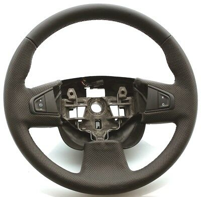 Natural Leather Steering Wheel Cover For Renault Master 3 Mascott Opel Movano 3