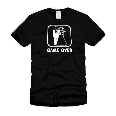 Game Over ( Marriage) - Funny Wedding Humor Stylish T-Shirt