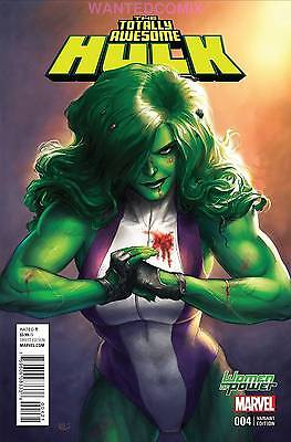 Totally Awesome Hulk #4 Wop Variant Cover Woman Of Power Marvel Comic
