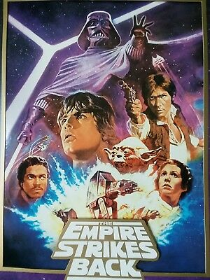 STAR WARS Empire Strikes Back Limited Edition Collectible Lithograph Lucas Film