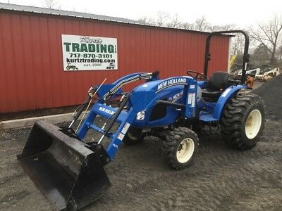 2016 New Holland Workmaster 33 4x4 Hydro Compact Tractor w/ Loader Only 177Hrs!