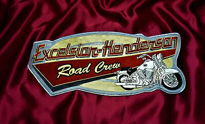 Excelsior Henderson Super X Rare Road Crew Patch - New