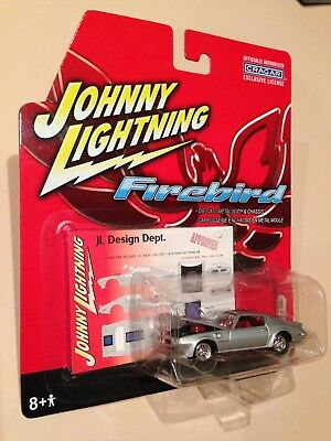1972 Pontiac Trans Am Silver Johnny Lightning Diecast Car 1:64 Sealed Mint NEW