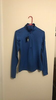 Nwt Nike Dri Fit Half Zip Womens Small