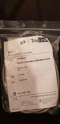 Spacelabs 700-0008-07 5 lead ecg cable